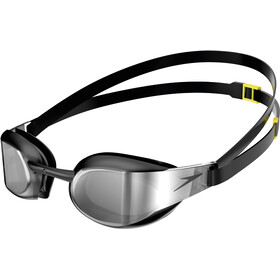 speedo Fastskin Elite Mirror Gafas, black/dark chrome
